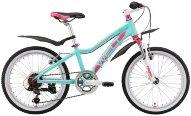 Велосипед Welt Edelweiss 20 2019 matt mint green/pink (one size)